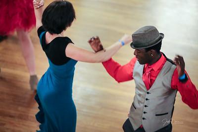 Big 3 Swing Dance - Masonic Temple Ballroom 3-24-2018