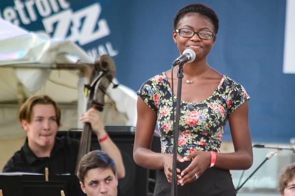 Detroit Jazz Fest Youth Vocalist - Detroit Jazz Fest 2018