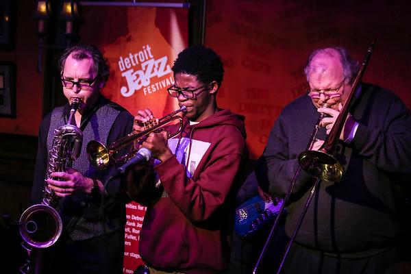 Detroit Jazz Festival Jam Session - Dirty Dog - March 27, 2017