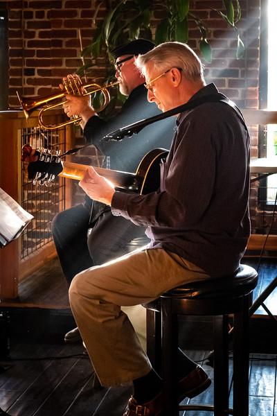 Dmitri Matheny and Milo Peterson ~ Live at KNKX Connects, Chehalis, Washington