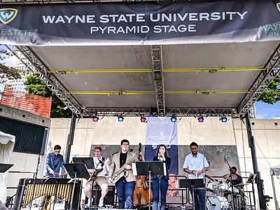 JC Heard Jazz Week at Wayne - Detroit Jazz Fest 2018