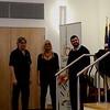 The Trio -- Bob Laramie, Jan Jungden and Justin Blackburn.