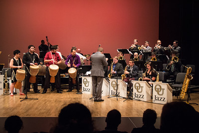 Oakland University Jazz Band - 10-28-2016