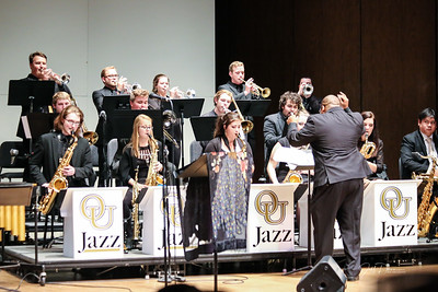OU Jazz Band w/ Regina Carter and Thornetta Davis
