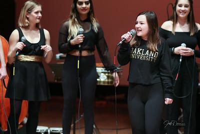 Oakland University Jazz Singers 11-24-2019