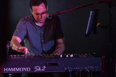 The Paul Carey organ trio - New Way Bar