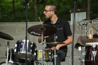 Paul Keller At Sundown Septet - Reed City - 7-13-2018
