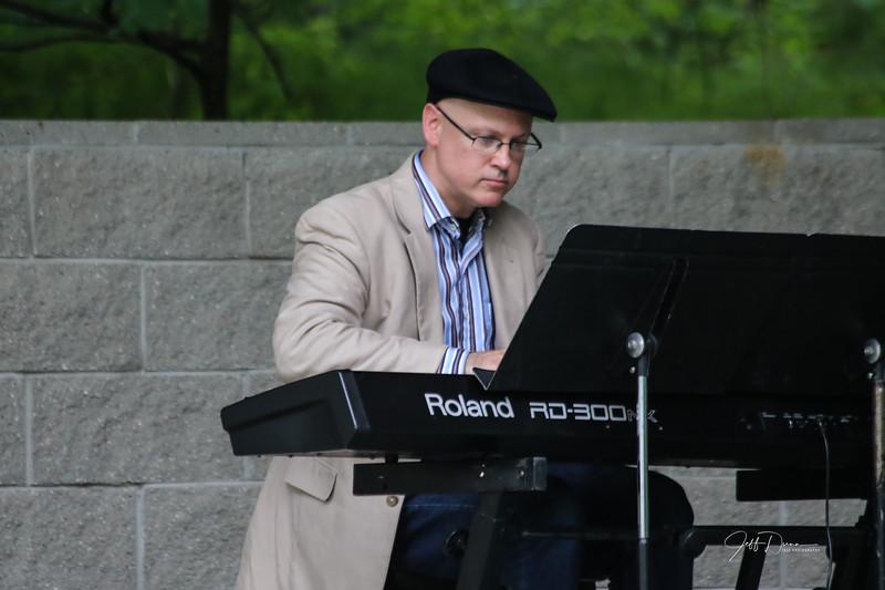 Paul Keller At Sundown Septet - Reed City - 7-13-2018