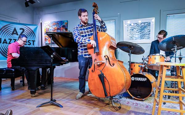 Roe Bickley Kramer Trio - A2 Jazz Fest 9-30-2018