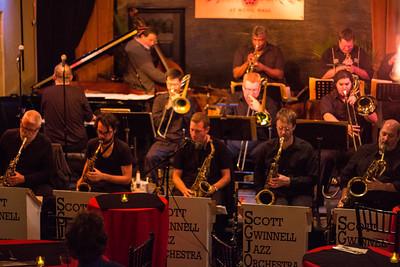Scott Gwinnell Jazz Orchestra - Nov. 2015