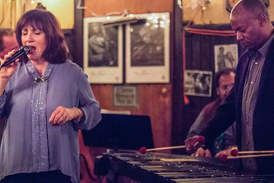 Sandy Sasso, Gladstone Trott on Piano, Brian Carey on Vibraphone