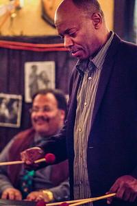 Gladstone Trott on Piano, Brian Carey on Vibraphone