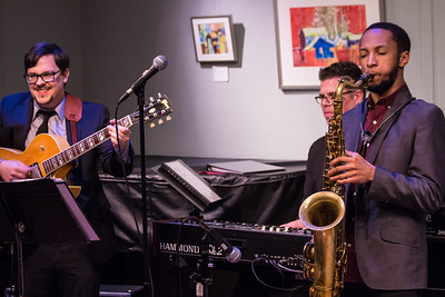 Sean Dobbins Organ Quartet featuring Benny Rubin, Jr. - Kerrytown Concert Hall - 1-13-2017