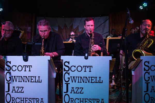 Scott Gwinnell Jazz Orchestra - Cliff Bell's 3-2-2017