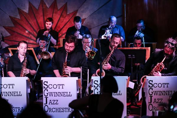 Scott Gwinnell Jazz Orchestra - Cliff Bell's - 6-7-2018