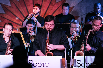 Scott Gwinnell Jazz Orch. - Cliff Bell's 6-7-2018