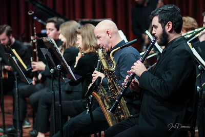 Wayne State - Matt Michaels Tribute w/Jazz Band & Strings - 12-3-2018