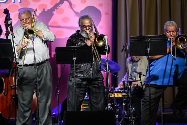 Trombone Jam Session - Detroit Jazz Fest 2018