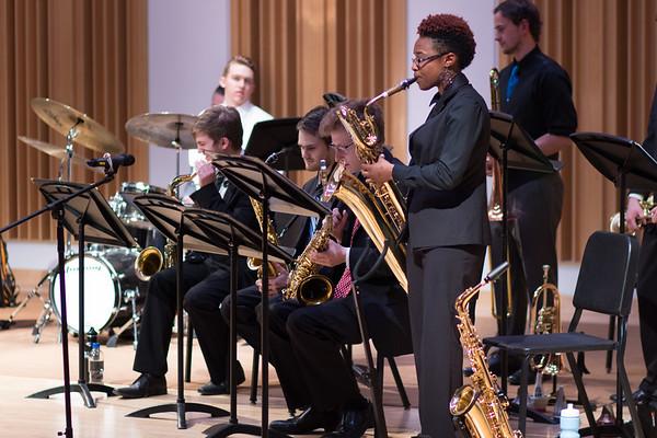 Wayne State Jazz Big Band II - April 13, 2017