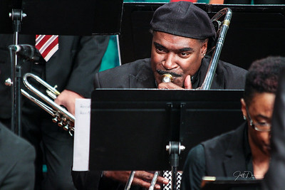 Wayne State Jazz Big Band w/ Sean Jones 12-11-17