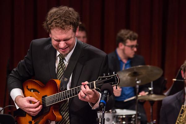 Wayne State Lab 1 Jazz Band - Mondays at the Max - 4-11-17