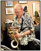 Copenhagen Jazz Festival 2010. Bob Rockwell Quartet feat. Anders Bergcrantz i JazzCup fradag 9. juli 2010  Bob Rockwell (ts), Kasper Villaume (p), Thomas Ovesen (b), Karsten Bagge (dr) and Anders Bergcrantz (S)(tp,flh)<br /> <br /> Her Bob Rockwell<br /> <br /> Photo  Torben Christensen © Copenhagen