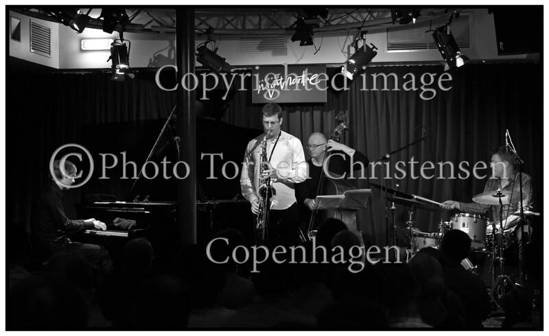Jazzhus Montmartre, Eric Alexander,  Jan Lundgren,  Jesper lundgaard,  Kristian Leth