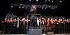 Her er det Copenhagen Gospel Singers på scenen søndag 16. maj 2010 hvor en del  københavnere havde trodsen regnen og søgt ly under paraplyerne for at gå i Tivoli for at overvære Tivolis Gospel Festival hvor mere end  2000 gospelsangere fordelt på 30 kor og 3 scener  del i begivenhederne. Hvad der startede som en lille musikalsk mærkedag på Plænen i Tivoli i 2009, har på et år vokset sig til at blive Danmarks største Gospel Festival med hele 2000 sangere, 28 live koncerter og 16 timers nonstop gospel.    . Photo: Torben Christensen © Copenhagen, Foto: Torben Christensen  København ©
