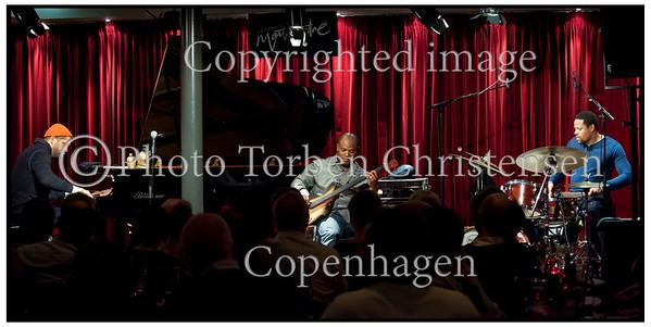 Jason Moran  på scenen i Jazzhus Montmartre onsdag 29. februar 2012 <br />    ------   <br /> Jason Moran on stage in Jazzhus Montmartre Wednesday, February 29, 2012  Photo: © Torben Christensen © Copenhagen,
