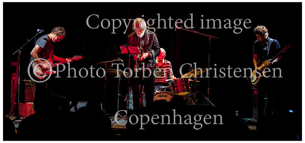 Trompetisten Tom Harrell med Jakob Bro Trio på scenen i Jazzhouse torsdag 7. juni 2012. Tom Harrell - trompet,  Jakob Bro - guitar, Anders Christensen - bas, Jakob Høyer - trommer  ----- <br /> Trumpeter Tom Harrell with Jakob Bro Trio on stage at the Jazz House Thursday, June 7, 2012. Tom Harrell - trumpet, Jakob Bro - guitar Anders Christensen - bass, Jakob Hoyer - drums Photo: © Torben Christensen © Copenhagen