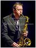 Vinterjazz 2013. Engelske Get The Blessing på scenen i Jazzhouse fredag 1. februar 2013. Jim Barr - bas,  Clive Deamer - trommer,  Jake McMurchie - saxofon,  Pete Judge - trompet. Photo  Torben Christensen @ Copenhagen------<br /> Winter Jazz 2013. English Get The Blessing on stage at Jazz House Friday, February 1st 2013. Jim Barr, bass, Clive Deamer, drums, Jake McMurchie, sax, Pete Judge, trumpet..  Photo: © Torben Christensen © Copenhagen