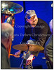 "Bandet Mortens Aften med Elith ""Nulle"" Nykjær (cl), Ole ""Fessor"" Lindgreen (tb), Jakob Munck (tuba), Morten Ærø (dr) på scenen i Paradise Jazzonsdag 11. december 2013. Gæster blandt andre Vincent Nilsson, Trombone, Peter Marott, Trompet og Peter Rosendahl   @  Photo Torben Christensen @ Copenhagen"