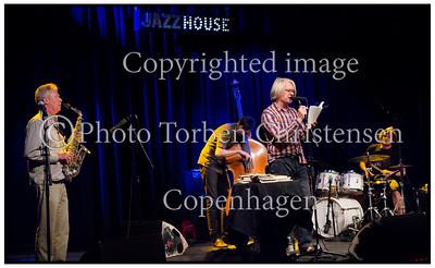 Digteren Peter Laugesen Jazzhouse 2014