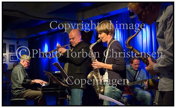 paradise Jazz, Jan Kaspersen, piano, Christina von Bülow, saxophone, Frederik Lundin, saxophone, Anders Bergkrantz, trumpet,  Peter Danstrup, bass
