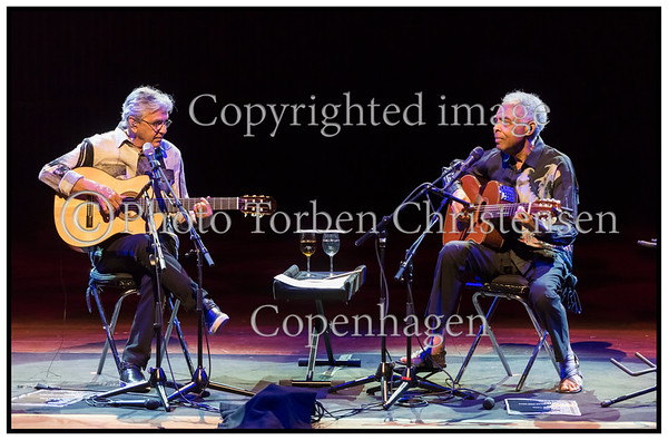 Copenhagen Jazz Festival 2015.  Caetano Veloso,  Gilberto Gil