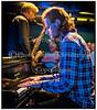Emil Hess, saxes, Nikolaj Hess, piano, Mikkel Hess, drums