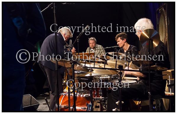 . Annisette, vokal, Alex Riel, trommer, Stefan Pasborg, trommer,