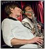 Christina Von Bülow, alto sax , Johannes Wamberg, guitar, Daniel Franck, bass