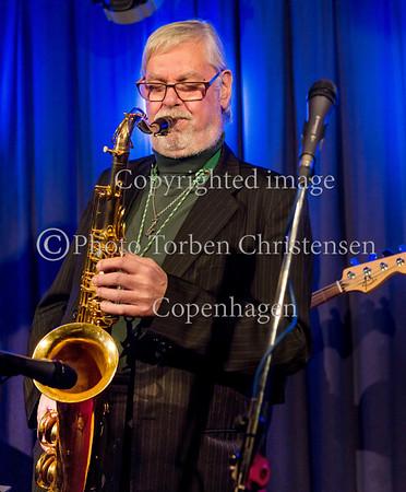 Jesper Thilo, Søren Kristiansen, Jesper Lundgaard, bas, Morten