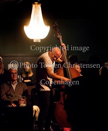 Jazzhouse 25 års jubilæum fejres med den skandinaviske gruppe The Thing med gæster Joe McPhee, Fire! Orchestra-saxofonist Anna Högberg samt trompetist Goran Kajfe 7. oktober 2016š.  Photo © Torben  Christensen @ Copenhagen