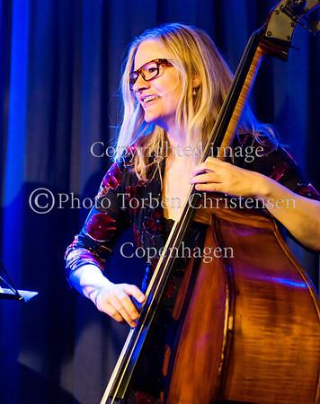 Sophisticated Ladies i Paradise Jazz 15. marts 2017. Marie Louise Schmidt (p), Helle Marstrand (b), Benita Haastrup (dr)   Photo © Torben  Christensen @ Copenhagen