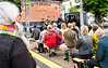 Copenhagen Jazz Festival 2017. Susanna Risberg Trio  koncert  på Balders Plads på Nørrebro 11. juli 2017  Photo © Torben  Christensen @ Copenhagen
