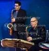 Tenor Madness. Tre jazz-tenorer i Paradise Jazz torsdag 15. marts 2018.  Bob Rockwell (ts), Jesper Løvdal (ts), Gabor Bolla (ts), Ben Besiakov (p), Anders Fjeldsted (b), Frands Rifbjerg (dr)
