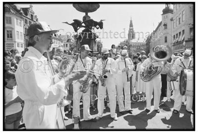 Papa Bue på Kultorvet 1981