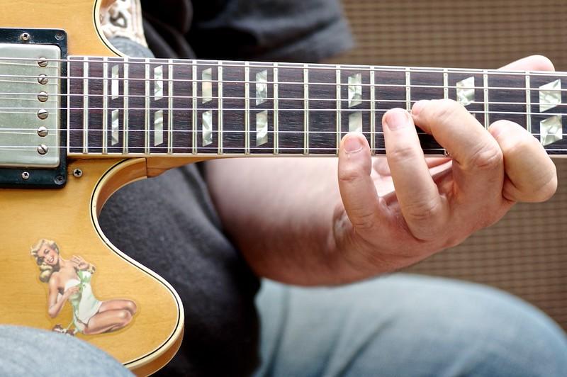 La Gibson ES345TD di Max Carletti