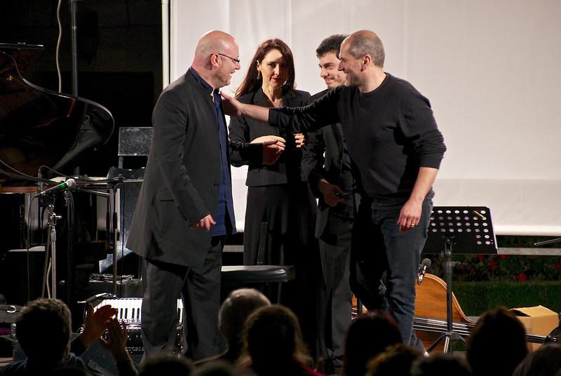 Pino Jodice, Giuliana Soscia, Jacopo Ferrazza, Emanuele Smimmo