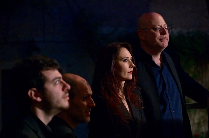 Jacopo Ferrazza, Emanuele Smimmo, Giuliana Soscia, Pino Jodice