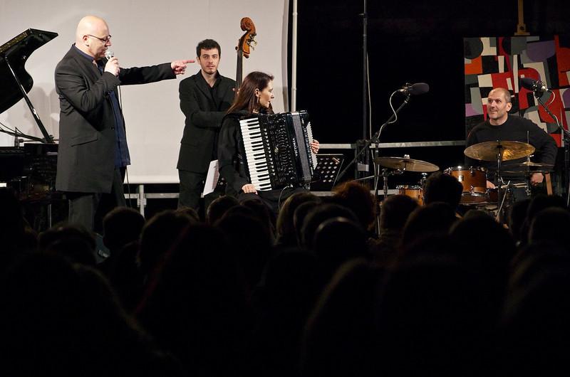 Pino Jodice, Jacopo Ferrazza, Giuliana Soscia, Emanuele Smimmo