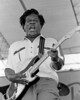 Earl King performs at the New Orleans Jazz & Heritage Festival in 1993.