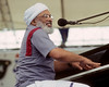 Eddie Bo performing at the New Orleans Jazz & Heritage Festival on May 2, 1991.